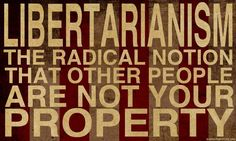 other people are not your property