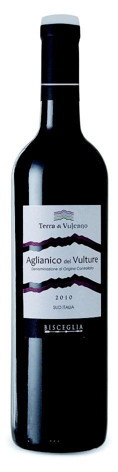 "Terra di Vulcano  ""Aglianico del Vulture 2010""  One of the most reasonably priced and easily found Aglianici in the US."