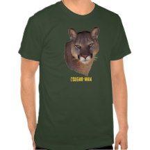 Cougar Mountain Lion Beautiful Big Cat T-Shirt
