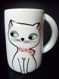 Holt Howard Cozy Kitten Mug