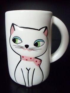 Holt Howard Cozy Kitten Mug