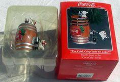 1992 Enesco COLD, CRISP TASTE of COKE Ornament 583766