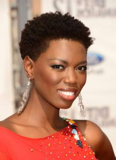 African Super Woman: Hairstyles for short African hair