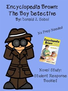 I originally created this activity for my 2nd grade students to complete a literature circle via blogging. It was high interest and the kids LOVED it! Send me a message if you're interested in more details for executing the blog!     In this activity students will read Encyclopedia Brown by Donald J.