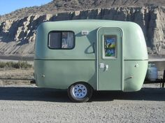 "2013 13' Boler Style Reproduction ""The Bean by Starbuck"""