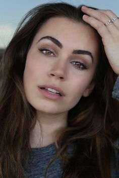 Look at these eyebrows and lashes. Sophie Tweed-Simmons