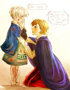 Everything will be Okay~ by Touzaiko.deviantart.com on @deviantART APH Iceland and Norway