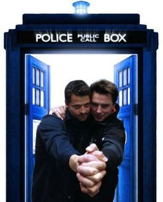 Captain Jack and Castiel in the TARDIS. Your arguement is invalid.