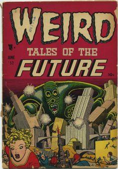 Basil Wolverton | Weird Tales of the Future #2 | Aragon | 1952
