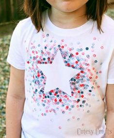 11 Ideas for DIY Fourth of July Shirts
