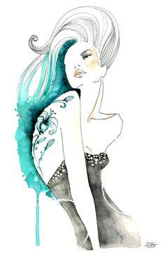 .: Sara Ligari Moda Ejemplos