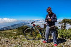 Cerro el Potosí Galeana Nuevo León México It's possible ti ascend to the peak but there is a very hard and rocky way, and prolongated uphill. Start your ascend early in the morning. The views are Awesome.  Belfort Bikes Montpellier XC2 Canon EOS 5T
