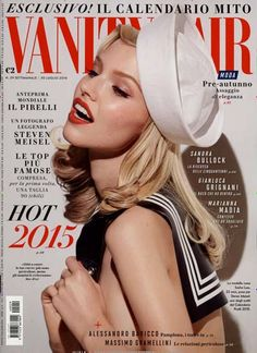 What shall we do with the sexy sailor? ... Gefunden in: VANITY FAIR / I, Nr. 29/2014
