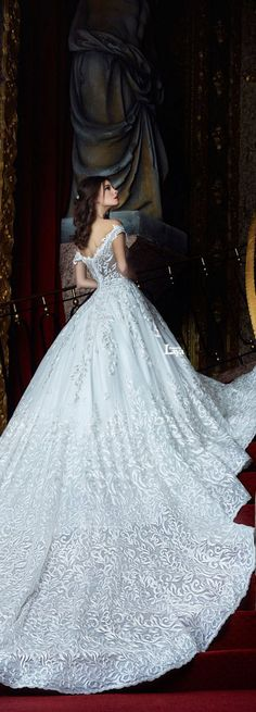 10 amazing wedding dresses to make your self the most beautiful bride 2016 Wedding Dresses, Wedding Attire, Bridal Dresses, Wedding Gowns, Dresses 2016, Wedding Bride, Beautiful Gowns, Beautiful Bride, Dream Dress