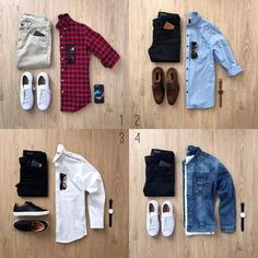 """4,036 Me gusta, 108 comentarios - Junho (@mrjunho3) en Instagram: """"You're going on a second date. Which outfit do you go with? Let me know in the comments below! • •…"""""""