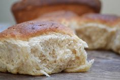 Bakeaholic Mama: No Knead Honey White Whole Wheat Bread/Dinner Rolls a Thanksgiving Must!