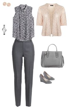Designer Clothes, Shoes & Bags for Women Pastel Grey, Work Attire, My Style, Polyvore, Stuff To Buy, Shopping, Collection, Design, Women