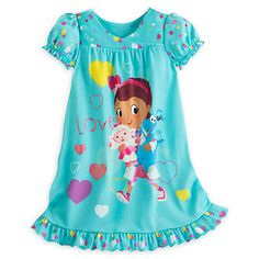 Disney Store Doc Mcstuffins Short Sleeve Nightgown Pajama Girl Size S Little Girl Fashion, Kids Fashion, Disney Outfits, Girl Outfits, Cute Sleepwear, Night Dress For Women, Girls Pajamas, Newborn Outfits, Womens Fashion Online