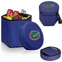 SHORT DESCRIPTION: The Bongo Cooler is a convenient 12-quart collapsible cooler that is strong enough to use as a seat. Great for the park, the beach, concerts, or road trips. The Bongo Cooler has a r