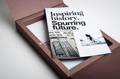 Beautiful Typography in a Print Design: Am Fleischmarkt 1 (b):: I like the box