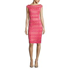 FREE SHIPPING AVAILABLE! Buy J Taylor Sleeveless Sheath Dress at JCPenney.com today and enjoy great savings.