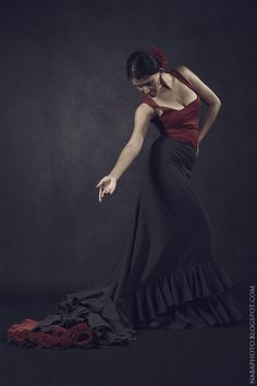 NaBa Photography: Valeria: Flamenco Dancer, Bata De Cola