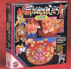 """Peter Pan Playthings """"ThunderCats"""" game"""