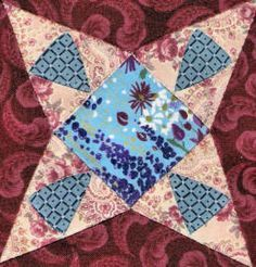 free Dear Jane patterns in there block of the month