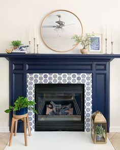 14 Simple Ways To Create Focal Points In Your Living Space Decor, Simple Decor, Interior Design Guide, Fireplace Remodel, Fireplace Makeover, Wall Frame Set, Fireplace, How To Install Wallpaper, Fireplace Frame