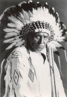Eagle Child - Blackfoot (Siksika) - circa 1935