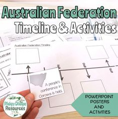 7 Fun Ways to use Timelines in your Classroom - Ridgy Didge Resources Powerpoint Poster, Primary School Curriculum, Timeline, Classroom, Teaching, Activities, History, Fun, Class Room