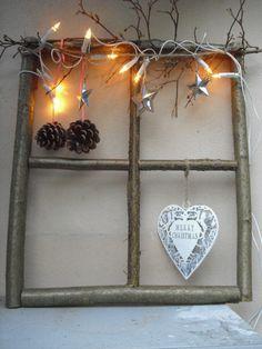 Die 16 besten bilder von adventsfenster weihnachtszeit - Holzwurm im fensterrahmen ...