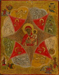 File:Russian - Presentation of the Virgin in the Temple and the Virgin of the Burning Bush - Walters 372664 - Back.jpg - Wikimedia Commons