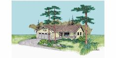 Eplans Cottage House Plan - Three Bedroom Cottage - 1145 Square Feet and 3 Bedrooms from Eplans - House Plan Code HWEPL61021