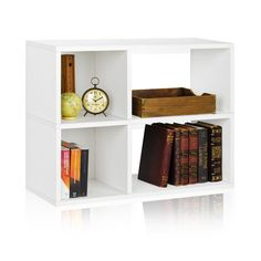 "Found it at AllModern - Chelsea 24.8"" Bookcase and Cubby Storage Shelf"