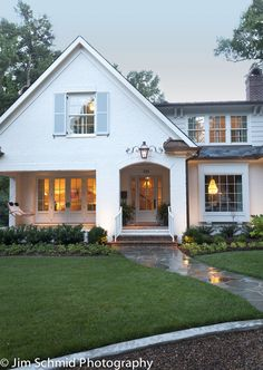 Charming Home Exterior - Jim Schmid Photography and Urban Building Group in Charlotte, NC