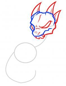How to Draw an Anthro Baby Dragon, Anthro Baby Dragon, Step by Step, Chibis, Draw Chibi, Anime, Draw Japanese Anime, Draw Manga, FREE Online Drawing Tutorial, Added by Dawn, November 19, 2011, 9:15:43 pm