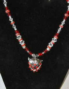 Juicy Strawberry Pendant Red Necklace