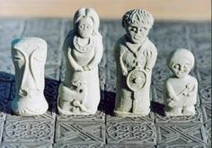 Irish chess images | Killyliss Celtic Chess Set | Killyliss Studio MISI Handmade Shop
