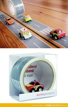 Road tape-how awesome is this!