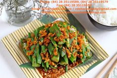 Dried shrimp suppliers: News Fried Corn, Vietnamese Recipes, Vietnamese Food, Dried Shrimp, Bap, Fish Sauce, Tasty Dishes, Green Beans, Food Photography
