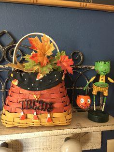 Longaberger's Treats basket.