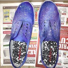 Galaxy keds shoes