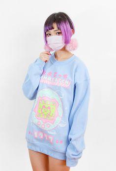 Glow-in-the-Dark TAMAGOTCHI Sweater