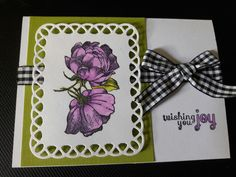 @papercraftersc challenge #151 took the plaid and the pink from the inspiration. #unitystamps #spellbinders