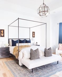 Funky Cool Bedroom!