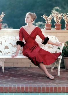 Grace Kelly 1955 Photo by Howell Conant