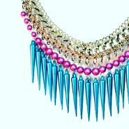 Statement necklaces, handmade & one-of-a-kind! Upcycled jewelry on Etsy, CLICK to see more!