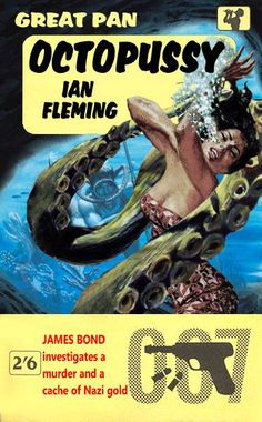Octopussy by Ian Fleming - A fan made 007 cover