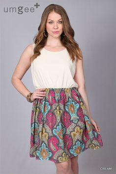 Paisley Print Key Hole Dress 1x, 2x, 3x. $52.00. Blondellamy'Dean is a boutique just for Curvy Girls. Sizes 10-36.